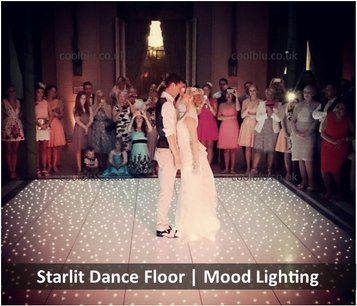 LED Twinkly Dance floor Hire | Mood lighting | North East | Durham