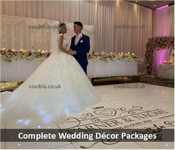 Wedding Decor | Wedding Packages | Wedding Entertainment | Draping | Decor | North East | Darlington